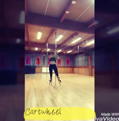 Tuto Pole Dance ! La cartwheel :)