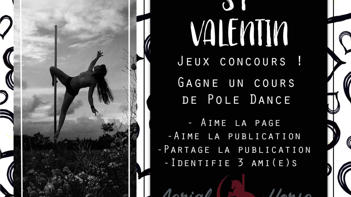 • Jeux concours • Pour la saint-valentin, tente de gagner un cours de pole !